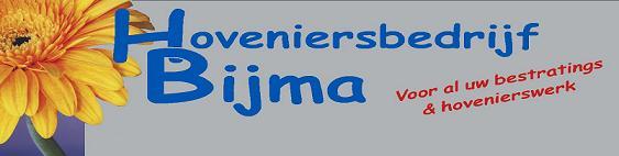 Hovenier & Bestratingsbedrijf Bijma